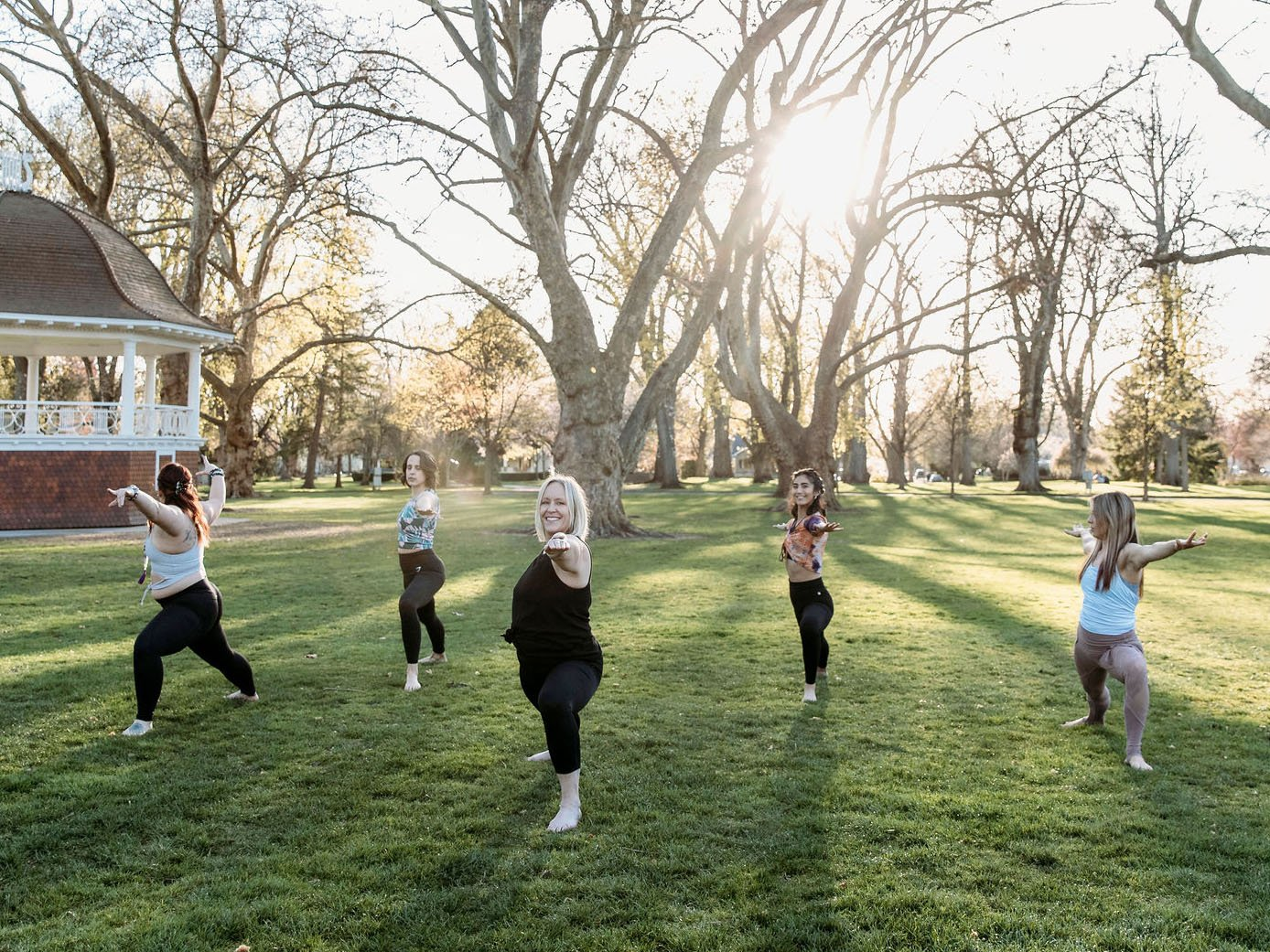 Yoga in the Park 1